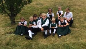 Nachwuchstänzer der Jugendtanzgruppe Pfalzdorf