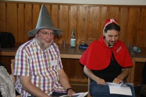 Rotkäppchen und Rumpelstilzchen im Märchenspiel