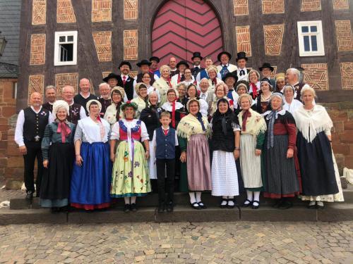 Der Kreis tanzte zur 56. Europeade in Frankenberg